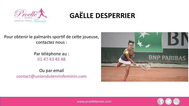Gaëlle Desperrier