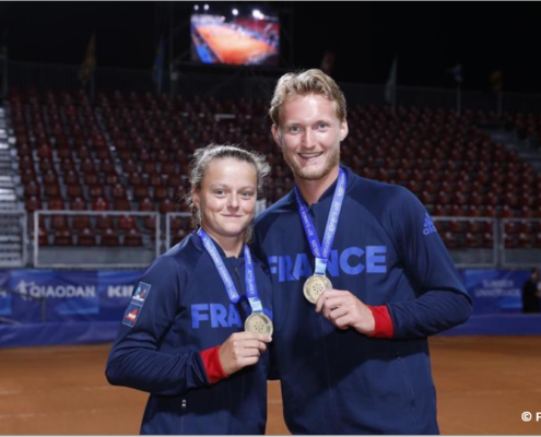 Alice Robbe tennis pro