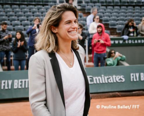 Amélie Mauresmo tennis pro