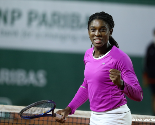Célia Belle Mohr tennis pro