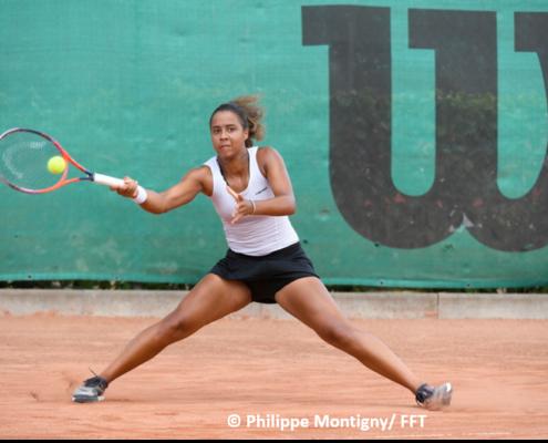 Emeline Dartron tennis pro