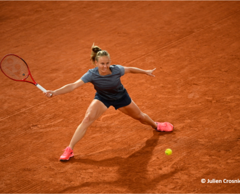 Fiona Ferro tennis pro