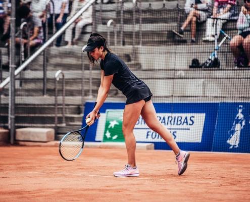 lucie wargnier tennis pro