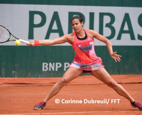 Steohanie Foretz tennis pro