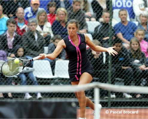Audrey Bergot tennis pro