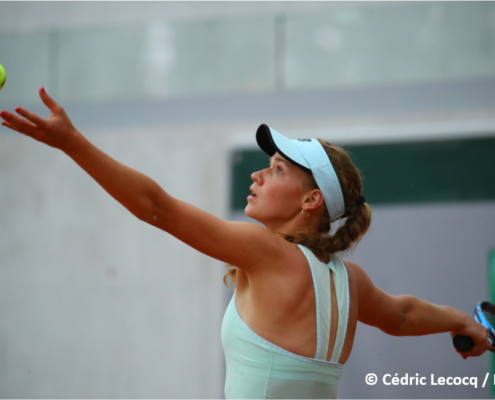 Jessika Ponchet tennis pro
