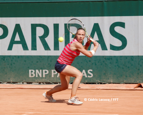Manon Garcia tennis pro