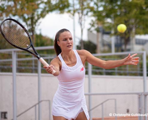 Marine Partaud tennis pro