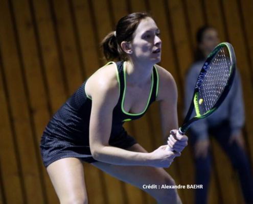 Priscille Heise tennis pro
