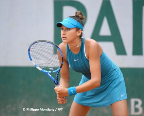 Salma Djoubri tennis pro