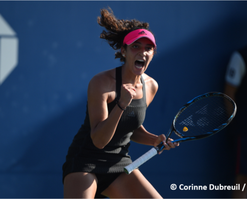 Yasmine Mansouri tennis pro